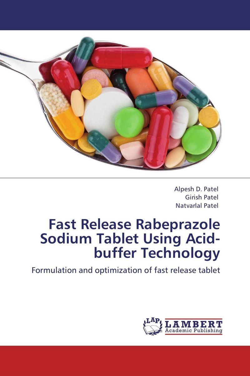 Fast Release Rabeprazole Sodium Tablet Using Acid-buffer Technology the release