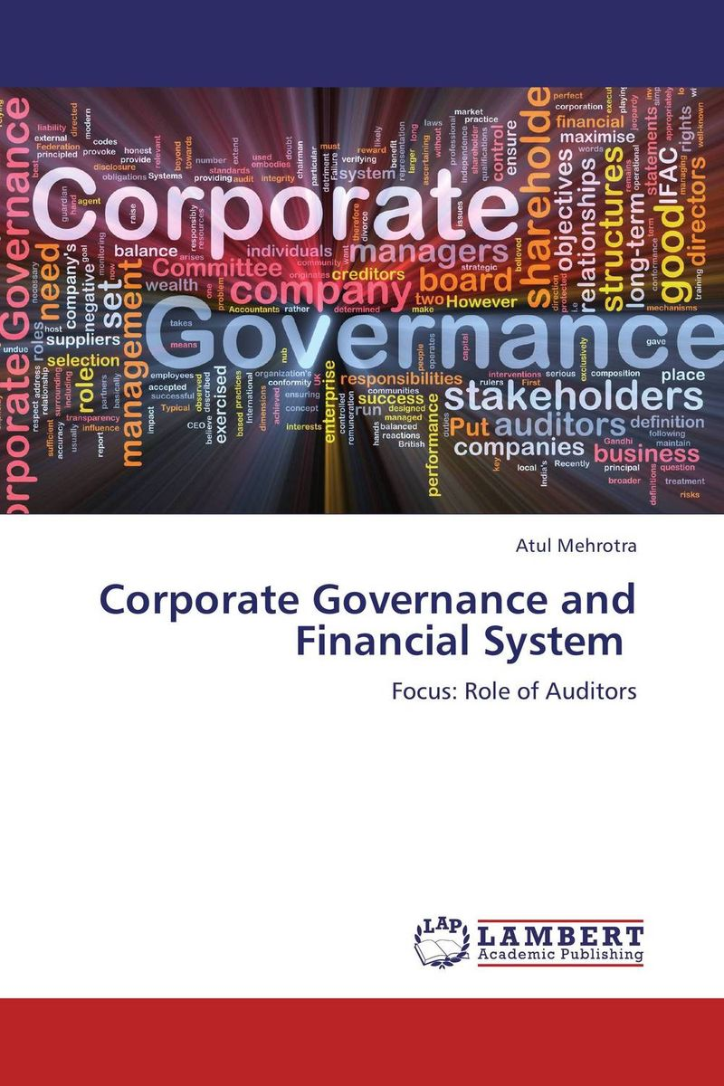 Corporate Governance and Financial System corporate governance audit quality and opportunistic earnings