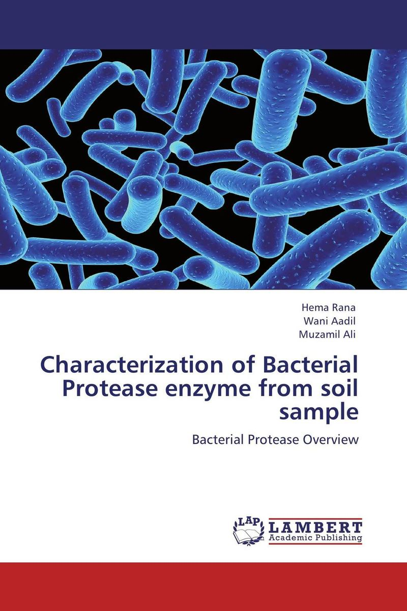 Characterization of Bacterial Protease enzyme from soil sample using enzyme from novozyme