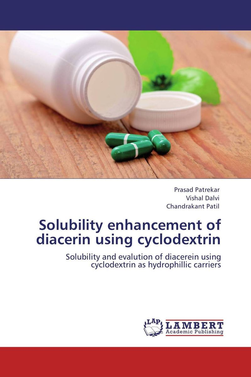 Solubility enhancement of diacerin using cyclodextrin vipul p patel in vitro dissolution enhancement of felodipine