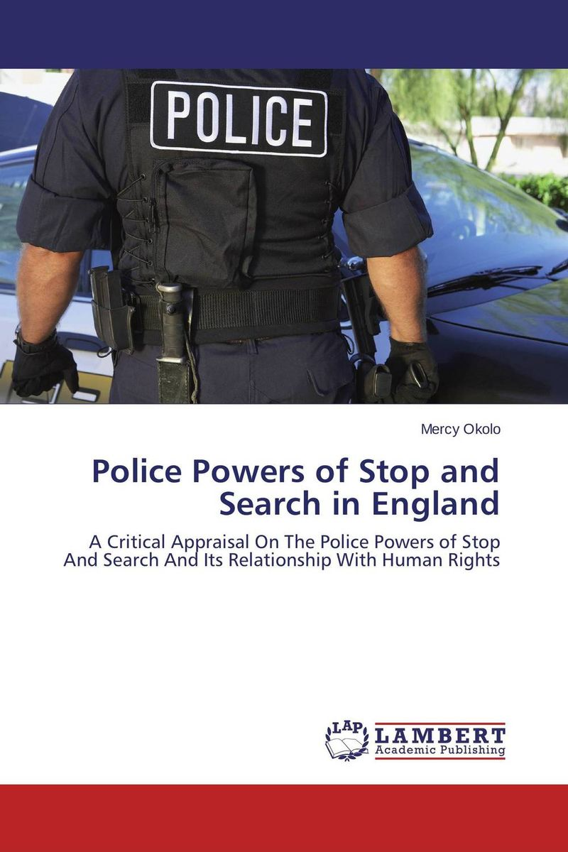 Police Powers of Stop and Search in England powers the definitive hardcover collection vol 7