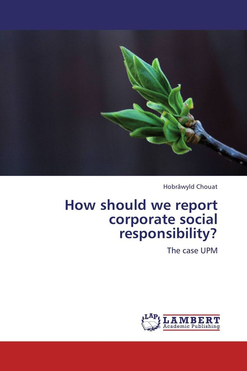 How should we report corporate social responsibility? corporate governance and firm value