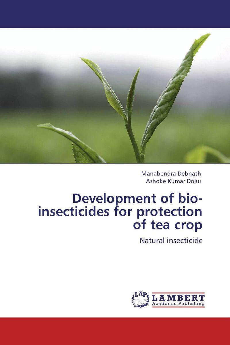 Development of bio-insecticides for protection of tea crop sadat khattab usama abdul raouf and tsutomu kodaki bio ethanol for future from woody biomass
