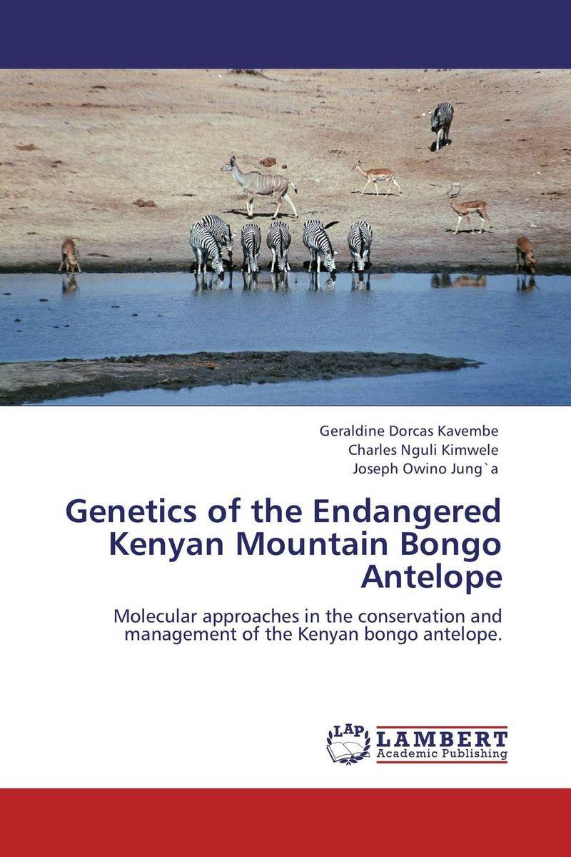 Genetics of the Endangered Kenyan Mountain Bongo Antelope the heir