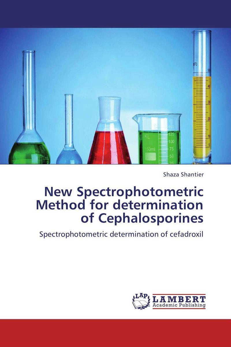 New Spectrophotometric Method for determination of Cephalosporines development of new spectrophotometric and hplc methods
