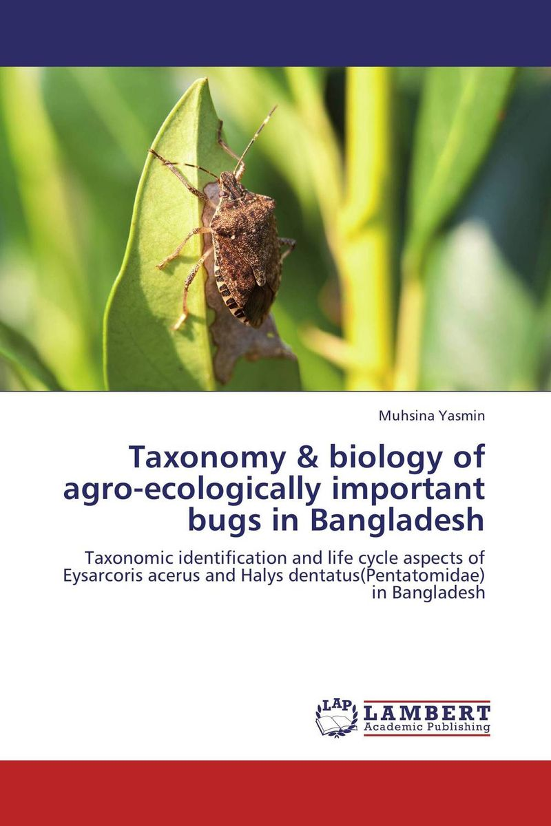Taxonomy & biology of agro-ecologically important bugs in Bangladesh квадрокоптер радиоуправляемый mjx bugs 3