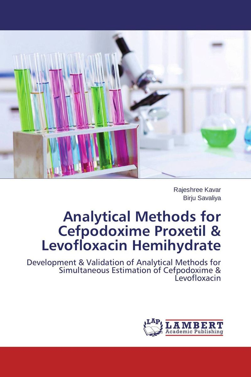 Analytical Methods for Cefpodoxime Proxetil & Levofloxacin Hemihydrate купить