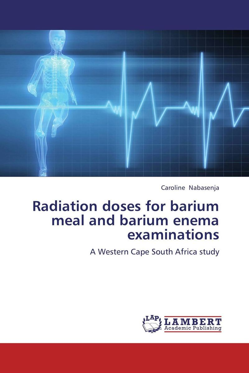 Radiation doses for barium meal and barium enema examinations using crayfish waste meal and poultry offal meal in place of fishmeal