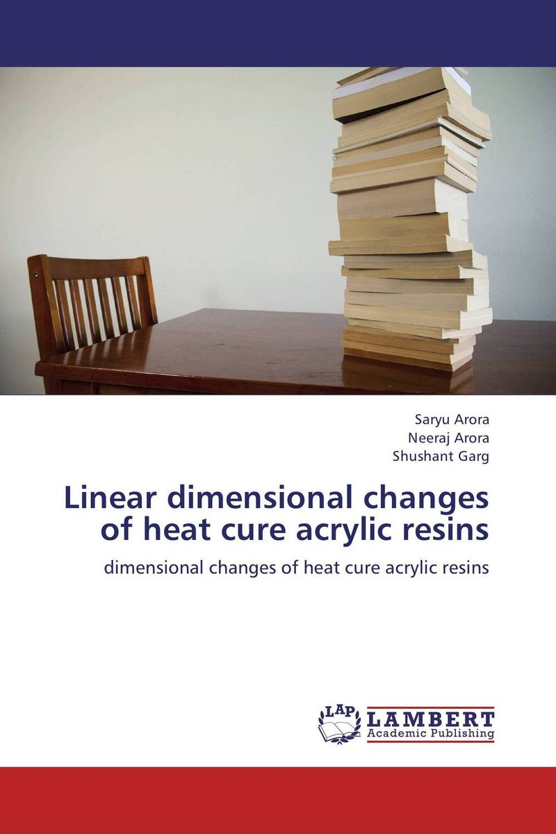 Linear dimensional changes of heat cure acrylic resins jodat askari and nazia yazdanie acrylic resins in dentistry