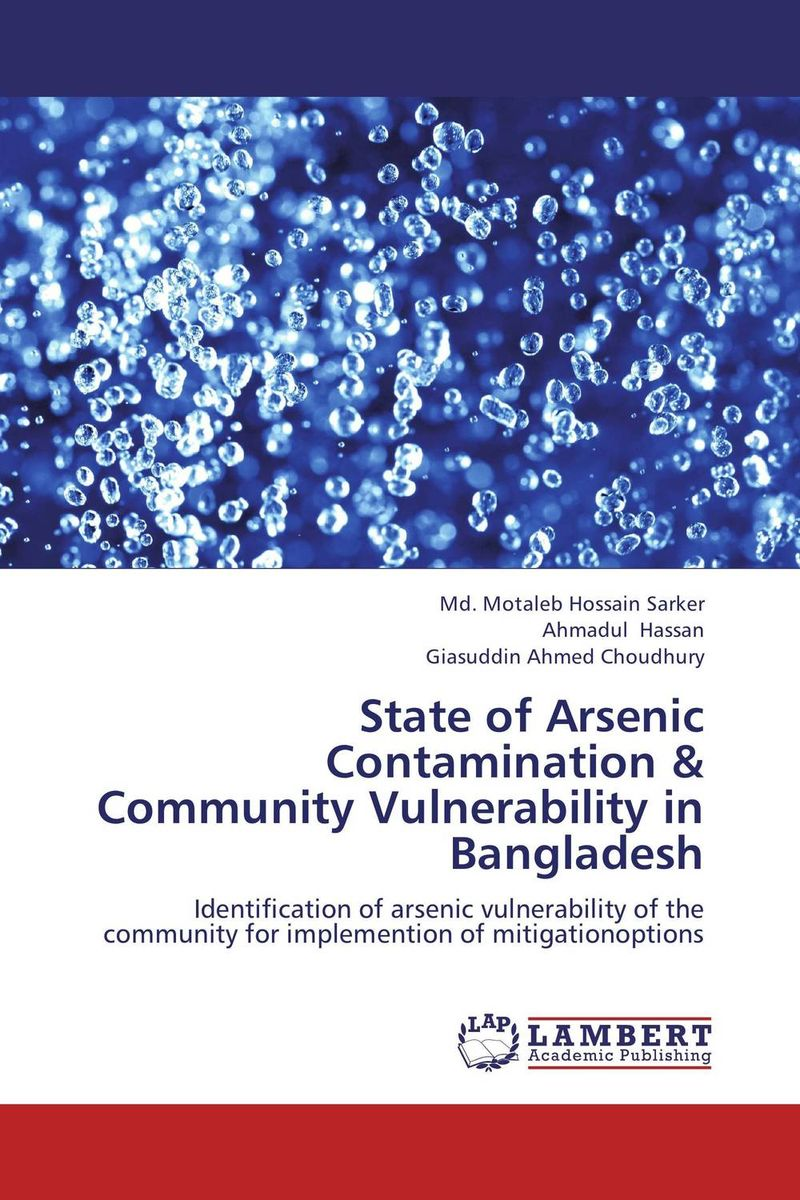 State of Arsenic Contamination & Community Vulnerability in Bangladesh removal of ammonia arsenic and dyes from water by ozone microbubbles