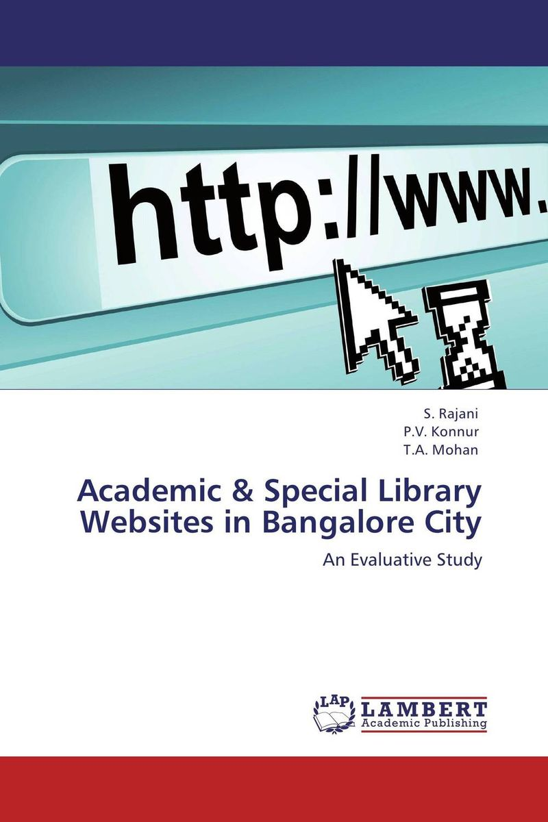 Academic & Special Library Websites in Bangalore City user preferences of personalized academic website