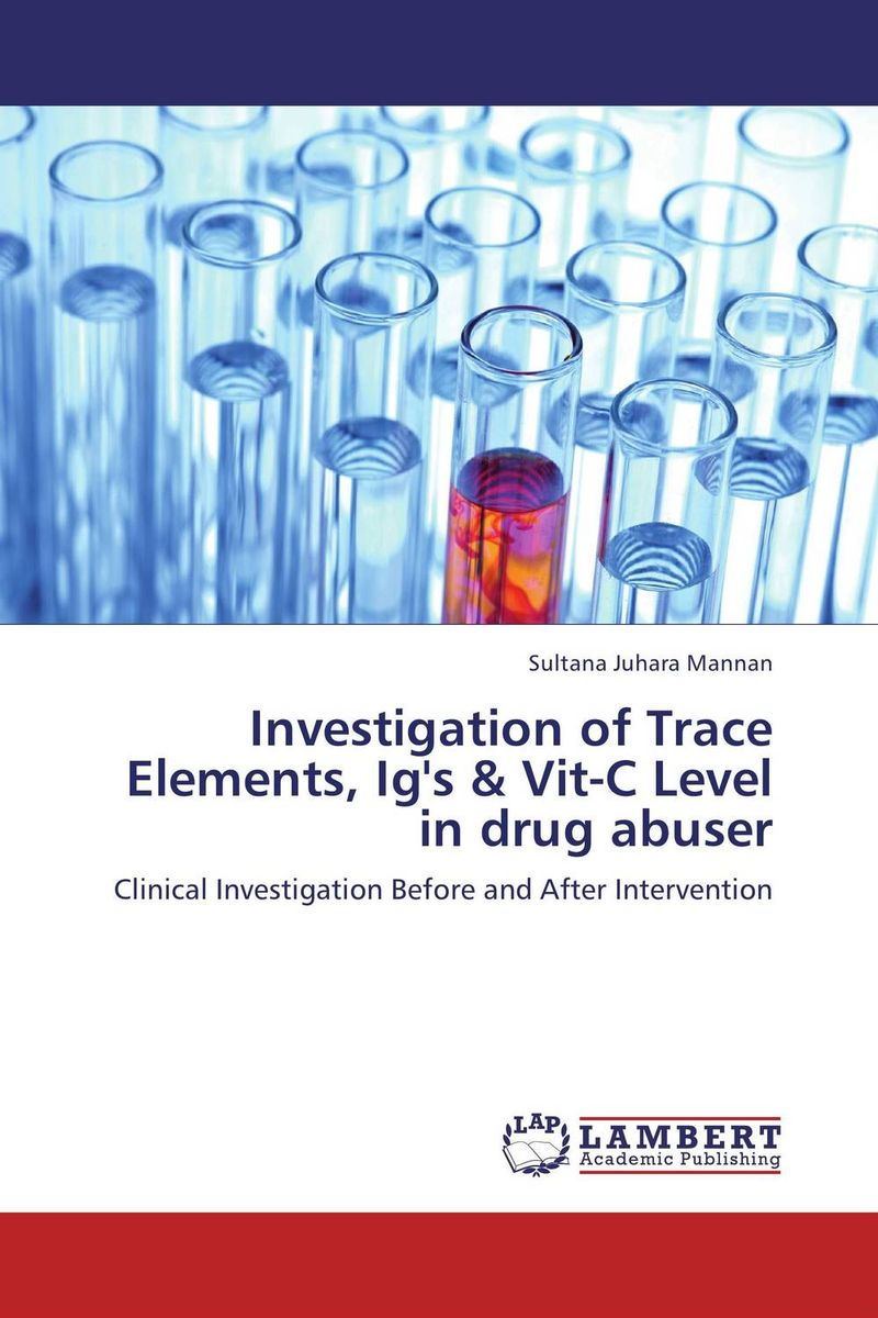 Investigation of Trace Elements, Ig's & Vit-C Level in drug abuser