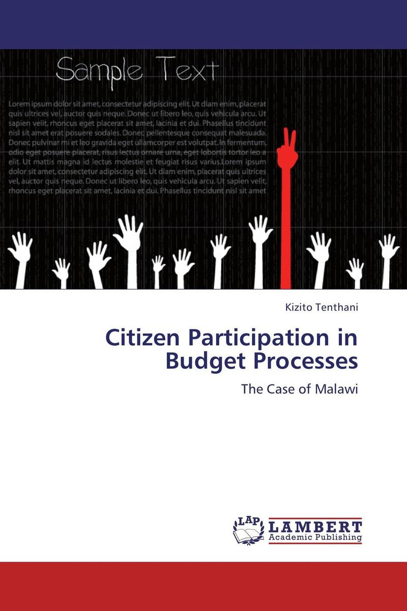 Citizen Participation in Budget Processes the challenges of decentralization in promoting citizen participation