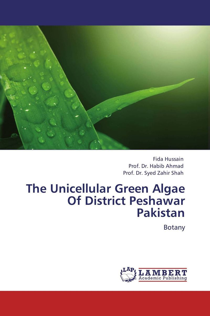 The Unicellular Green Algae Of District Peshawar Pakistan reassessment of mentha species from river kunhar catchment