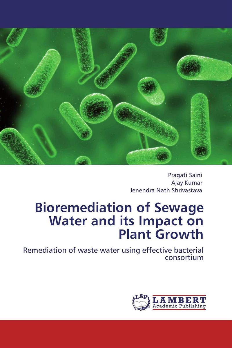 Bioremediation of Sewage Water and its Impact on Plant Growth analysis of bacterial colonization on gypsum casts