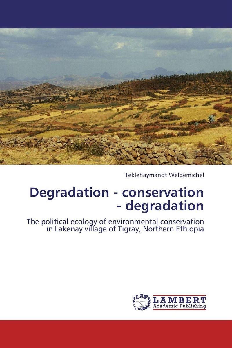 Degradation - conservation - degradation land degradation in the oromiya highlands in ethiopia