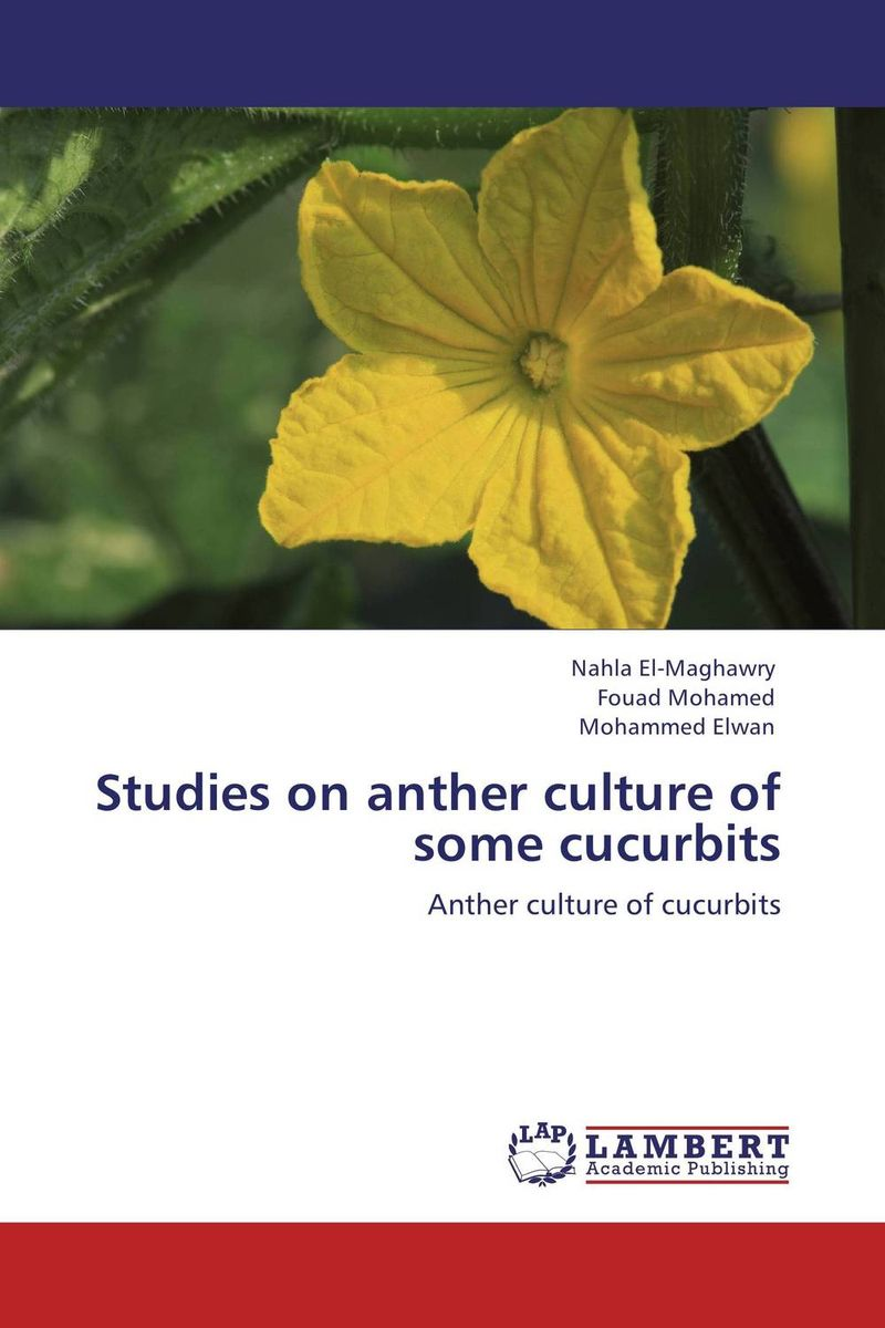 Studies on anther culture of some cucurbits studies on schiff bases derived from acetophenones