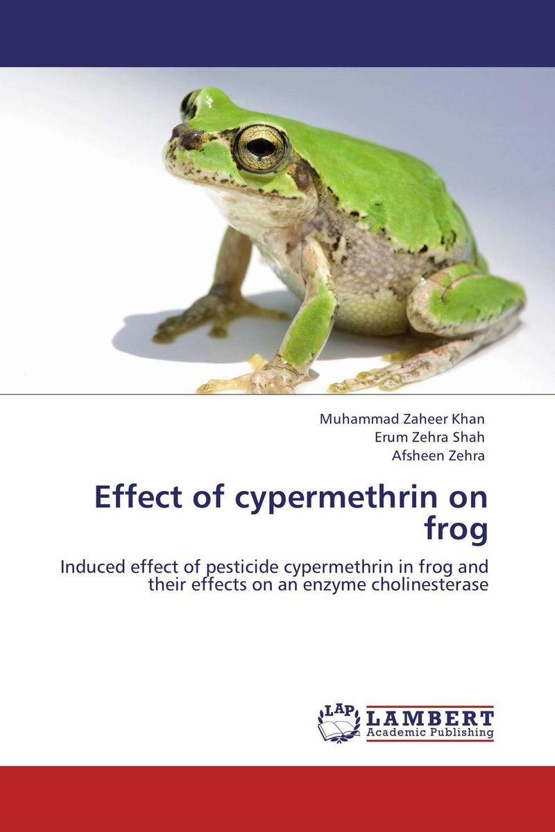 Effect of cypermethrin on frog found in brooklyn
