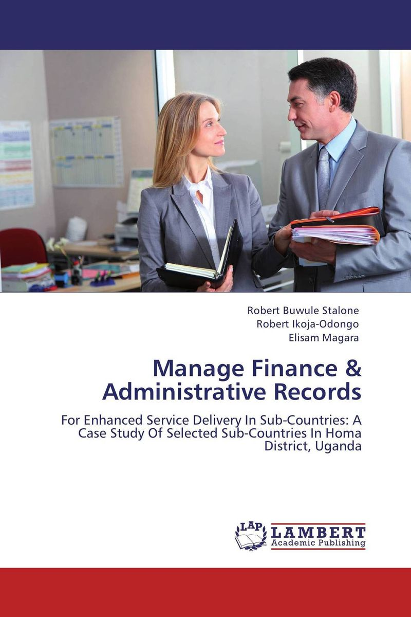 Manage Finance & Administrative Records admin manage access