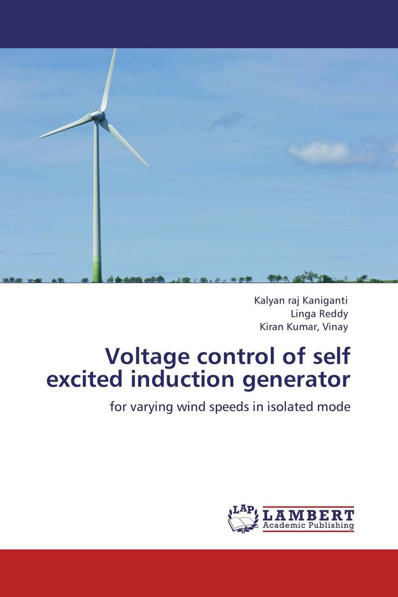 Voltage control of self excited induction generator