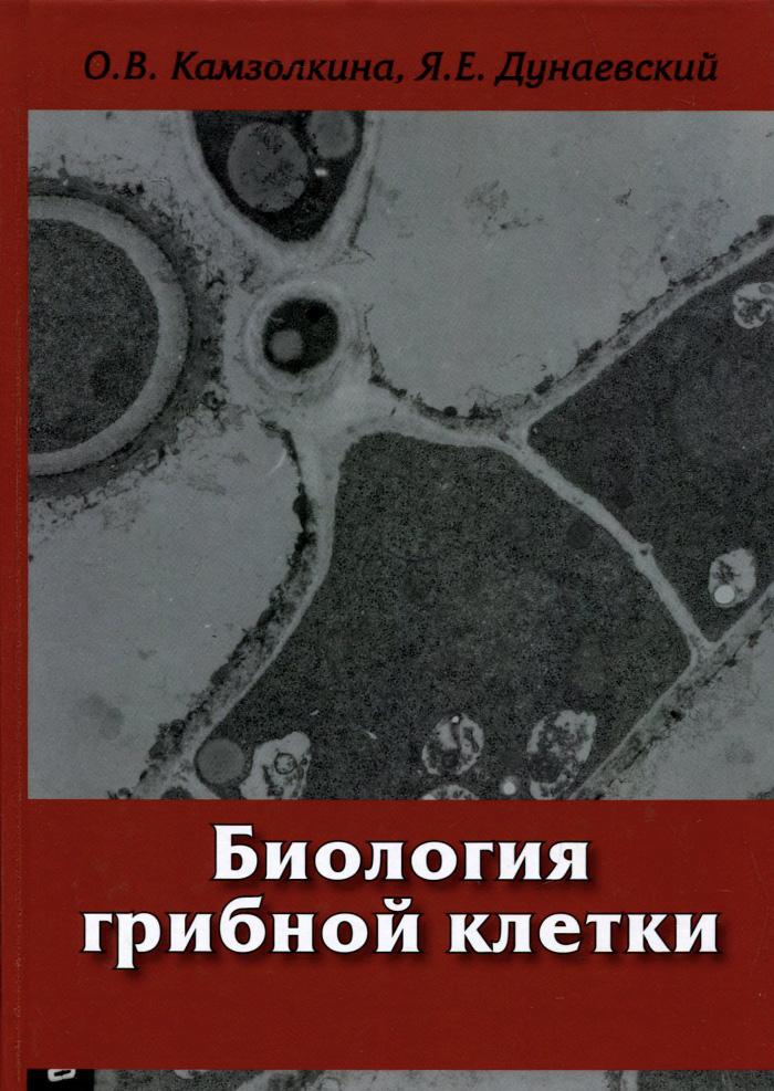 О. В. Камзолкина, Я. Е. Дунаевский Биология грибной клетки. Учебное пособие мицелий грибов шампиньон королевский субстрат объем 60 мл