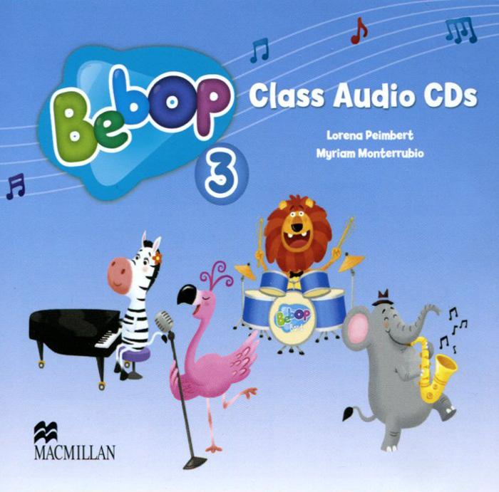 Bebop 3: Class Audio CDs (аудиокурс на 2 CD) islands level 2 class audio cds аудиокурс на 4 cd