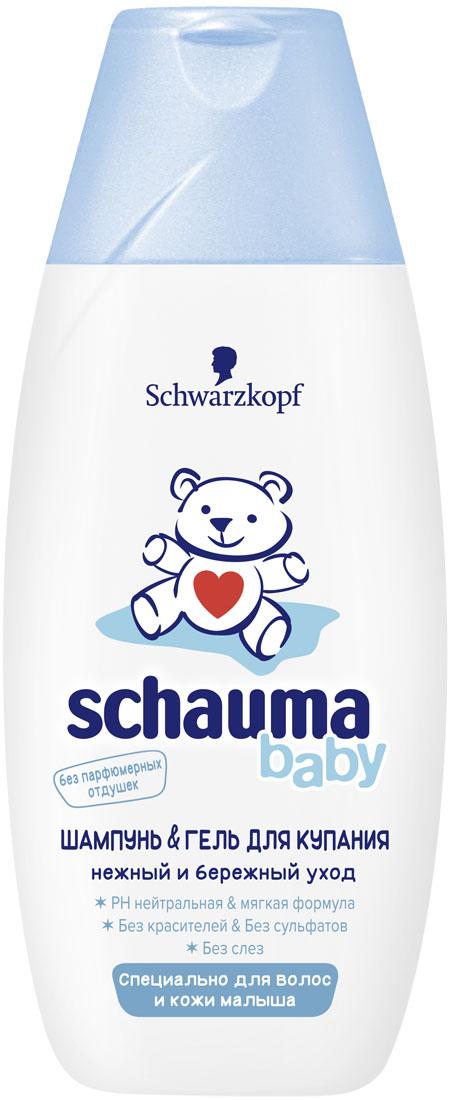 SCHAUMA Шампунь детский Baby, 225 мл9015535? pH-мягкая формула - без сульфатов ? Без красителей и отдушек ? Без слез