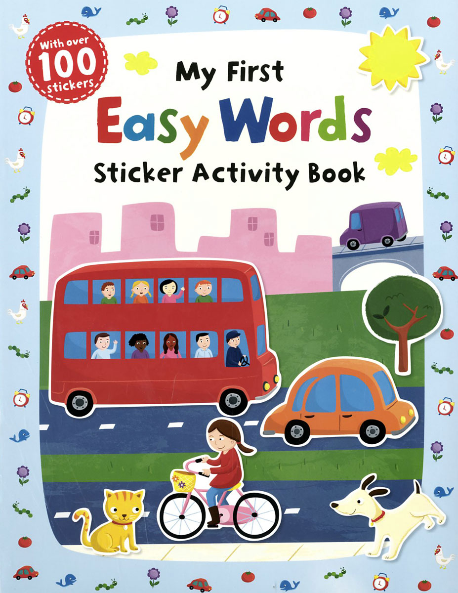 My First: Easy Words: Sticker Activity Book first sticker book easy spanish words