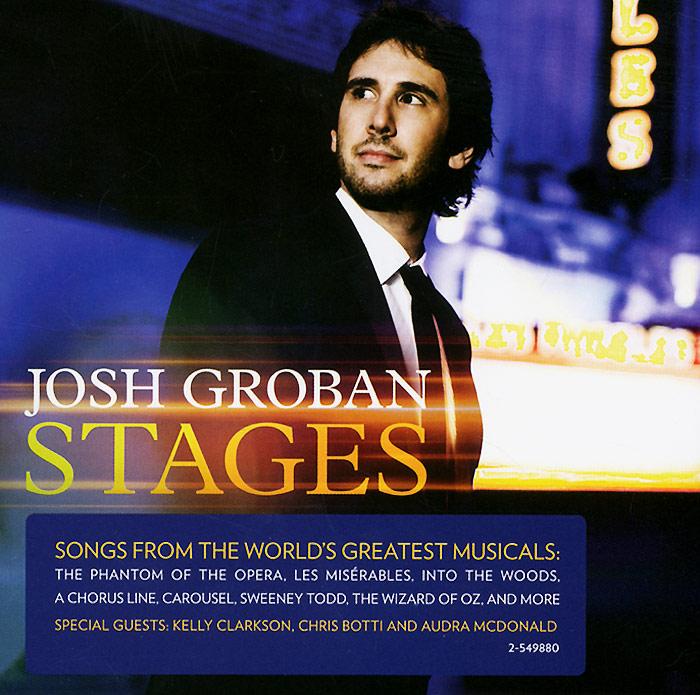Джош Гробан Josh Groban. Stages цена