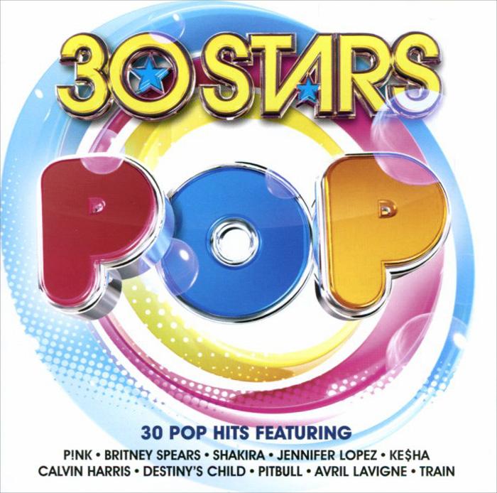 30 Stars Pop (2 CD) princess pop stars sticker book star paws