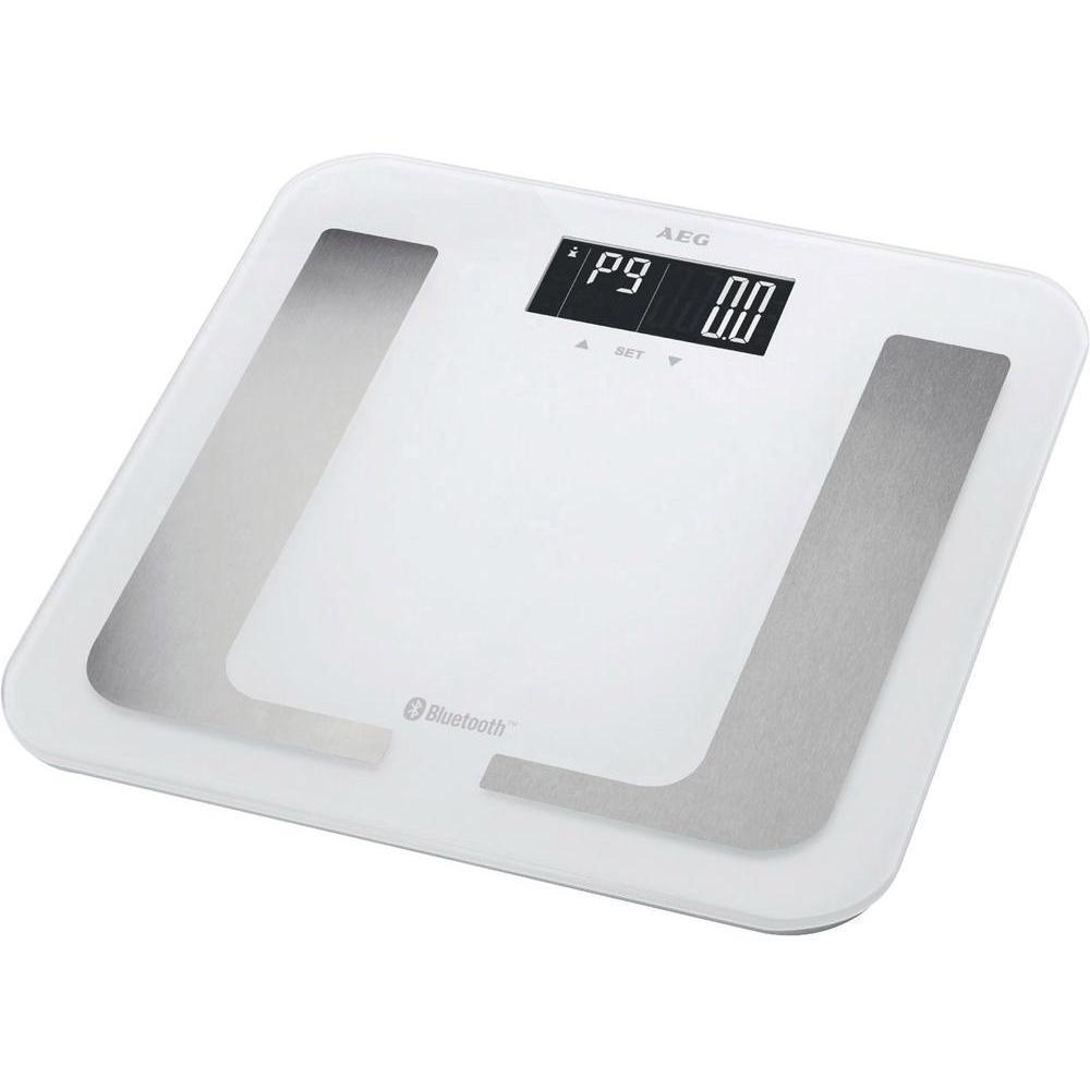 AEG PW 5653 BT, White напольные весы весы напольные aeg pw 5653 schwarz