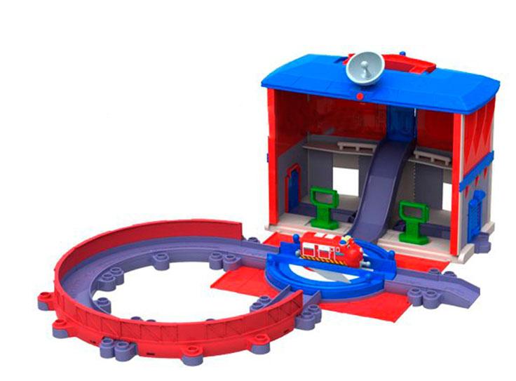 Chuggington Игровой набор Главная станция - Железные дороги
