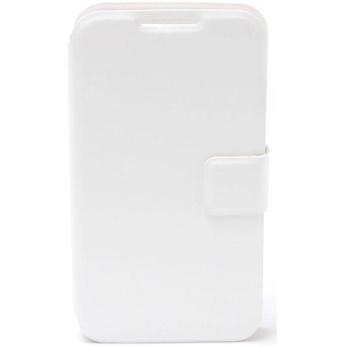 Untamo Essense универсальный чехол для телефонов 4.5-5.5, WhiteUESU4.5-5.5WHУниверсальный чехол Untamo Essence для телефонов с диагональю 4.5-5.5 обеспечивает защиту от воздействий разных типов, поэтому на корпусе и экране смартфона не будет сколов и трещин, царапин и потертостей. Также чехол бережет аппарат от пыли, грязи и влаги, при этом обеспечивая владельцу максимальный комфорт. Можно, не открывая чехол, подключить наушники или зарядное устройство, ответить на вызов, сделать музыку громче или тише, а также воспользоваться камерой.