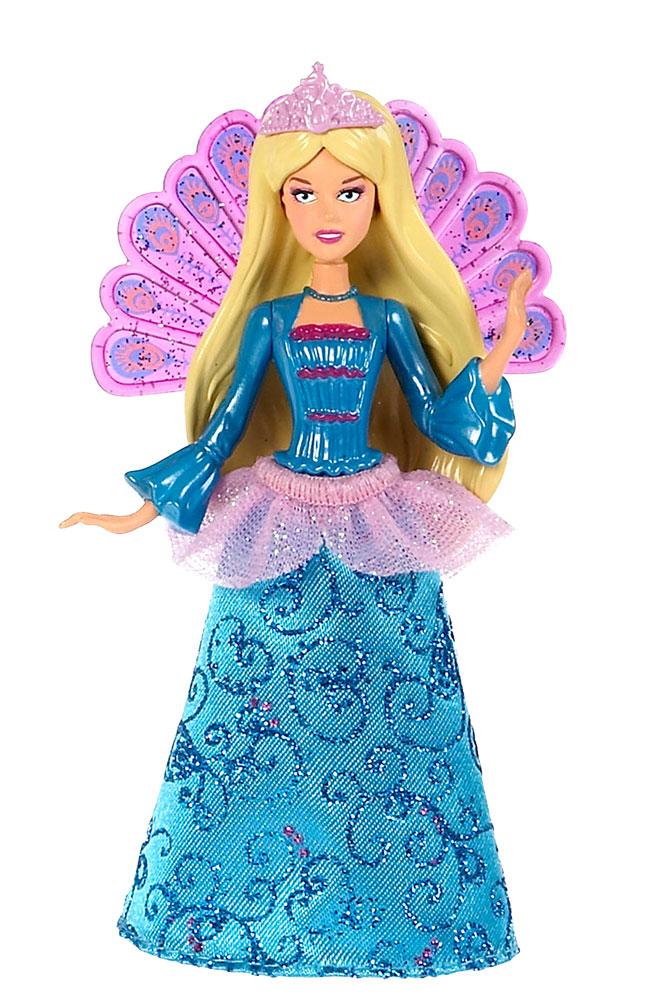 Barbie Мини-кукла Сказочная цвет платья голубой barbie сказочная мини кукла 10 см v7050 blp46