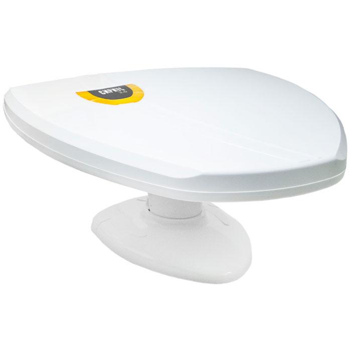 РЭМО Sirius 2.0, White комнатная антенна для ТВSirius 2.0Комнатная антенна РЭМО Sirius 2.0 предназначена для приема телевизионных программ в диапазоне 21-69 каналов в аналоговом и цифровом (DVB-T и DVB-T2) форматах вещания. Антенна основана на классической логопериодической структуре для каналов ДМВ и обеспечивает качественное изображение в зоне устойчивого приема телевидения.Корпус «Сириус 2.0» изготовлен из современных высокотехнологичных материалов, обладающих высокой прочностью и безопасностью при эксплуатации. Антенна имеет современный элегантный вид, при ее разработке были учтены реалии сегодняшнего дня - например высота основной плоскости выбрана так, чтобы при установке на подоконник она не экранировалась металлическим профилем усиления пластиковых окон.
