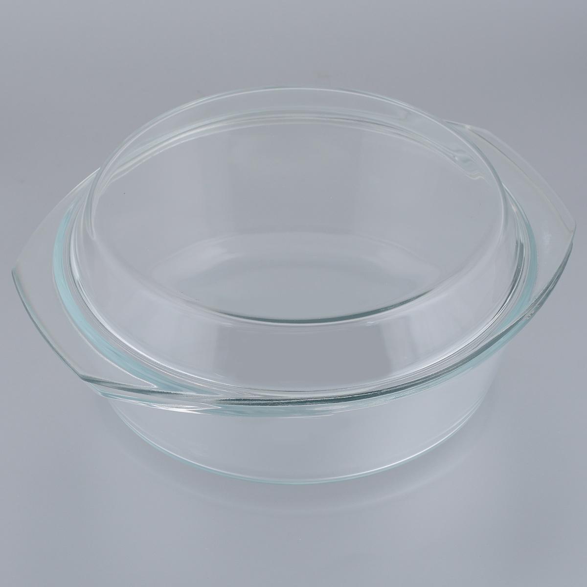 Кастрюля Mijotex с крышкой, 2 лCR3Кастрюля Mijotex изготовлена из экологически чистого жаропрочного стекла и оснащена крышкой, которую также можно использовать как отдельную емкость. Стекло - самый безопасный для здоровья материал. Посуда из стекла не вступает в реакцию с готовящейся пищей, а потому не выделяет никаких вредных веществ, не подвергается воздействию кислот и солей. Из-за невысокой теплопроводности пища в стеклянной посуде гораздо медленнее остывает. Стеклянная посуда очень удобна для приготовления, разогрева и хранения самых разнообразных блюд: супов, вторых блюд, десертов. Используя такую кастрюлю, вы можете не только приготовить в ней пищу, но и подать ее к столу, не меняя посуды. Благодаря гладкой идеально ровной поверхности посуда легко моется. Допускается нагрев посуды до 400°С.Можно использовать в микроволновой печи, духовом шкафу, на газовых конфорках и электроплитах. Можно использовать для хранения в холодильнике и морозильной камере. Можно мыть в посудомоечной машине. Высота стенок кастрюли: 7 см. Высота кастрюли (с учетом крышки): 10,5 см. Ширина кастрюли (с учетом ручек): 26 см. Толщина стенок: 6 мм.Толщина дна: 6 мм.