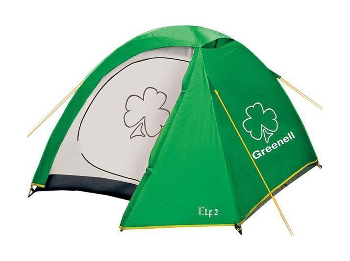 GREENELL Палатка Эльф 2 V3, цвет: зеленый. Арт.95509 палатки greenell палатка керри 2 v3