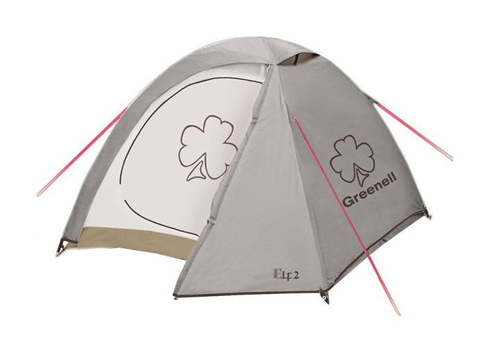 GREENELL Палатка Эльф 3 V3, цвет: коричневый. Арт.95510 палатки greenell палатка керри 2 v3