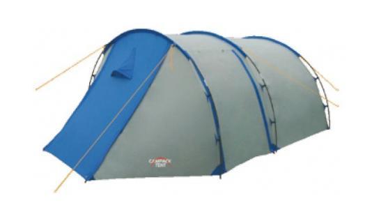 Палатка туристическая CAMPACK-TENT Field Explorer 3 (2013) (серый/голубой) арт.00376370037637Палатка Campack Tent Field Explorer 3 - это лассическая «полубочка». Палатка для несложных походов и семейного отдыха на природе рассчитана на использование при положительных температурах. Высокопрочное дно изготовлено из армированного полиэтилена, не пропускает влагу и устойчиво к истиранию. Палатка Campack Tent Field Explorer 3 оснащена увеличенными вентиляционными окнами, клапаном от косого дождя и двухслойной дверью с цветными молниями. Каркас, изготовленный из фибергласса, обеспечивает надежность и устойчивость, а внешнее крепление дуг значительно облегчает установку палатки. Внутри палатки имеется подвеска для фонаря и карманы для хранения мелочей. У палаткиCampack Tent Field Explorer 3 три раздельных входа.Характерная особенность - это огромный тамбур, где можно спрятать от непогоды снаряжение и вещи всех обитателей палатки, а при необходимости - использовать его как место для приготовления пищи. В этом году мы уделили повышенное внимание надежности палатки и сделали дополнительные усиления ткани в зонах повышенной нагрузки – по периметру, в нижней части тента. Проклеенные швы гарантируют герметичность и надежность в любой ситуации. Материал: Taffeta/алюминий Комплектация: Внешний тент. Внутренняя палатка. Дуги фиберглассовыеОттяжкиНабор колышковРем. комплектСумка