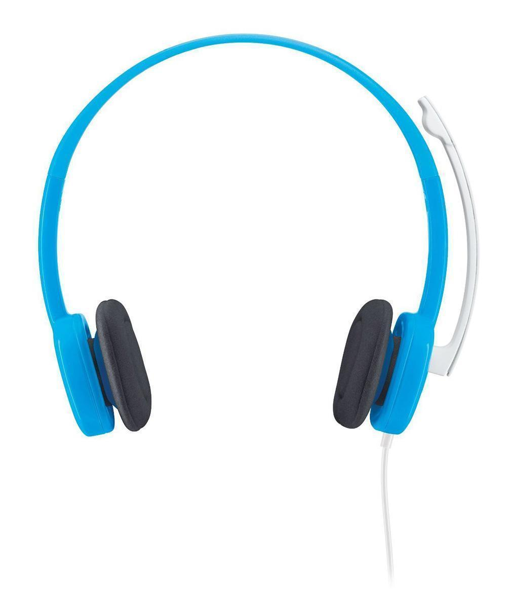 Logitech Stereo Headset H150, Blueberry (981-000368) - Офисные гарнитуры