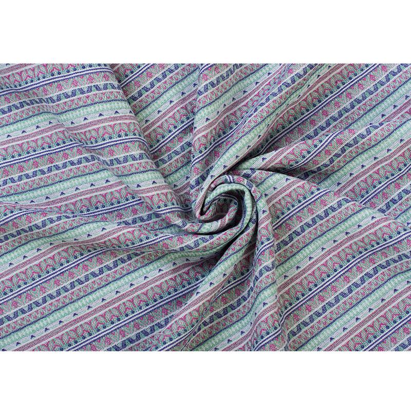 Слинг-шарф Чудо-Чадо Скандинавия, цвет: светло-зеленый, фиолетовый, белый,  5,1 м