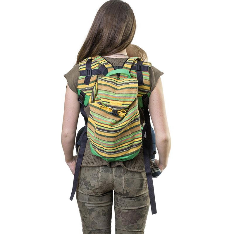 """Сумка-рюкзак для мамы Чудо-Чадо """"Уичоли"""", цвет: зеленый"""