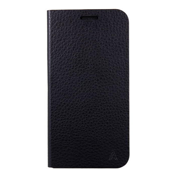 Anymode Flip Case чехол для Samsung S6 Edge, Black чехол книжка anymode для samsung galaxy s6 edge розовый