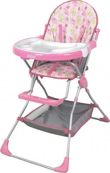 Стульчик для кормления Selby 252 розовый -  Все для детского кормления