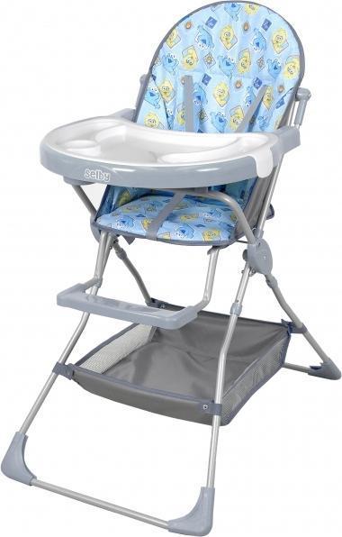 Стульчик для кормления Selby 252 серый -  Все для детского кормления