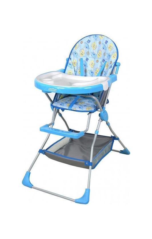 Стульчик для кормления Selby 252 синий -  Все для детского кормления