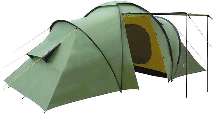 Палатка INDIANA SIERRA 6360400001Основным достоинством качественной палатки является ее надежность и непритязательность в эксплуатации. Шестиместная палатка Indiana SIERRA 6 с большим тамбуром и антимоскитными сетками. Важным преимуществом качественной палатки является ее надежность и непритязательность в использовании.