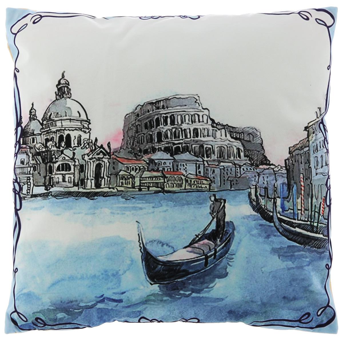 Подушка декоративная Феникс-презент Венеция, 45 х 45 см феникс презент