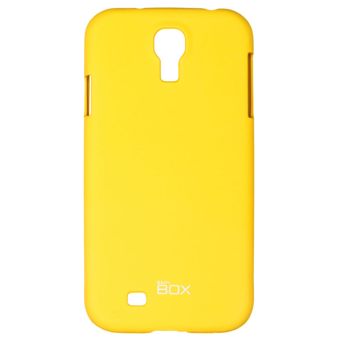 Skinbox Shield 4People чехол для Samsung Galaxy S4, Yellow чехлы для телефонов skinbox lg max l bello 2 skinbox shield 4people