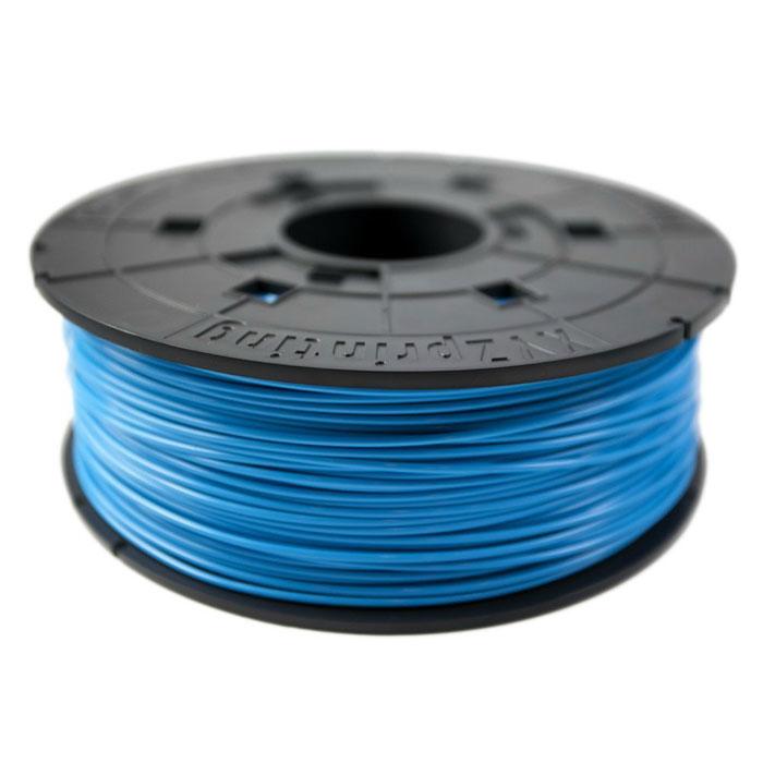 XYZ пластик ABS в катушке, Cyan 1,75 ммRF10XXEU01FПластик ABS от XYZ Printing долговечный и очень прочный полимер, ударопрочный, эластичный и стойкий кмоющим средствам и щелочам. Один из лучших материалов для печати на 3D принтере. Пластик ABS не имеетзапаха и не является токсичным. Температура плавления215-250°C. АБС пластик для 3D-принтера применяется в деталях автомобилей, канцелярских изделиях, корпусах бытовойтехники, мебели, сантехники, а также в производстве игрушек, сувениров, спортивного инвентаря, деталейоружия, медицинского оборудования и прочего.